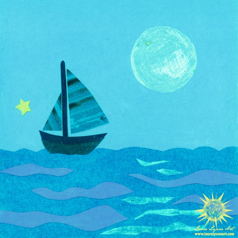 blue-sailboat-in-the-ocean-with-full-moon-illustration-art