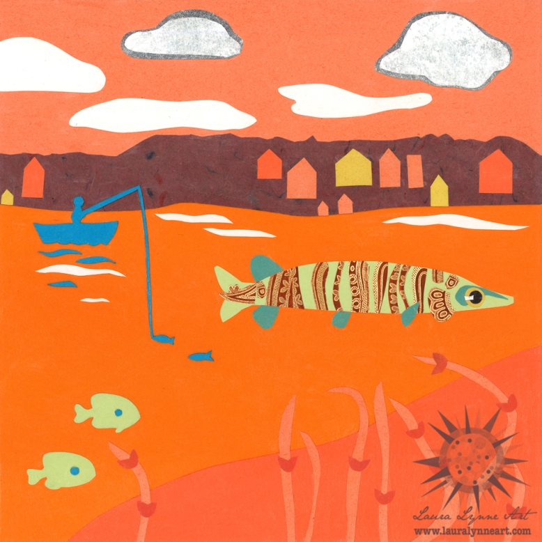 muskellunge-illustration-with-fisherman-in-hunter-orange-art